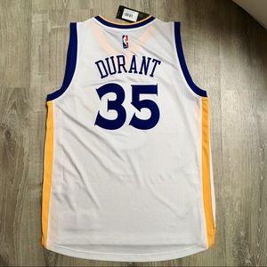adidas Shirts - Kevin Durant Golden State Warriors NBA Jersey
